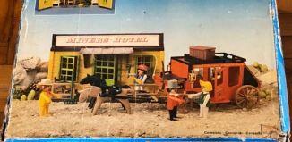 Playmobil - 23.75.8-trol - Hotel und Postkutsche