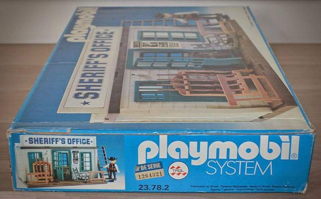 Playmobil 23.78.2-trol - Sheriif's office - Box