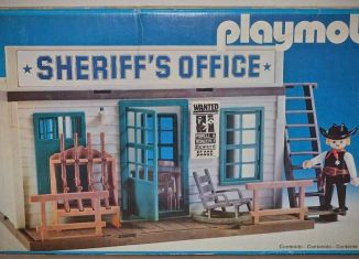 Playmobil - 23.78.2-trol - Sheriif's office