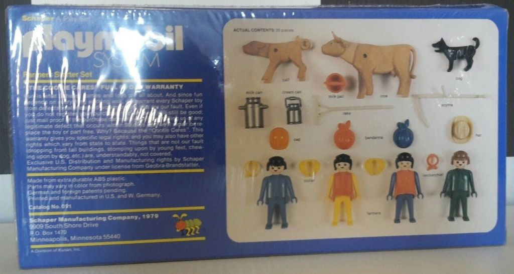Playmobil 091-sch - Farmers Starter Set - Back