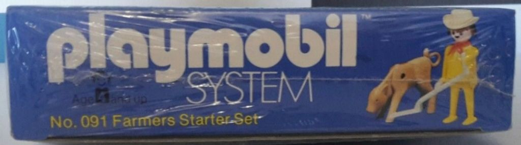 Playmobil 091-sch - Farmers Starter Set - Caja