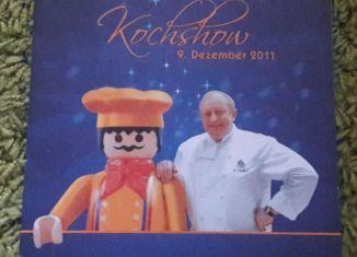 Playmobil - Playmobil-Kochshow von Alfons Schuhbeck am 09.12.2011
