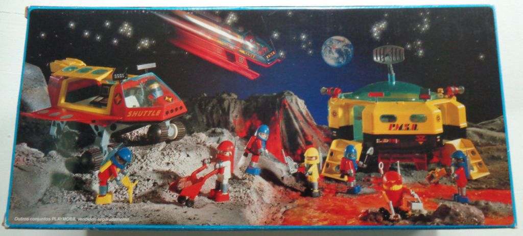 Playmobil 30.18.20-est - Space shuttle - Back