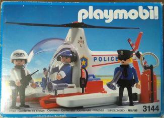 Playmobil - 3144v2 - Police helicopter