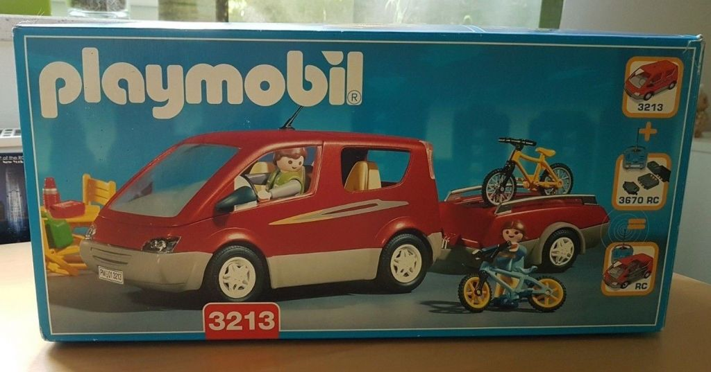 Playmobil 3213s2v1 - Family Van - Box