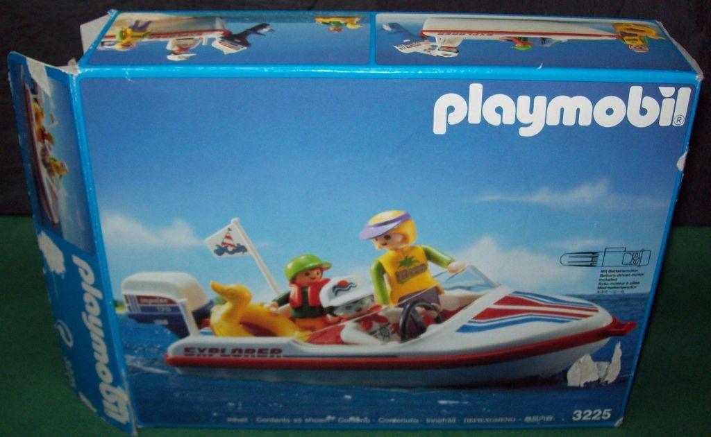 Playmobil 3225 - Speed Boat - Box