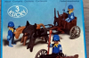 Playmobil - 3244s1v2 - US artillery cannon and cart