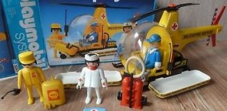 Playmobil - 3247v4 - Rescue helicopter