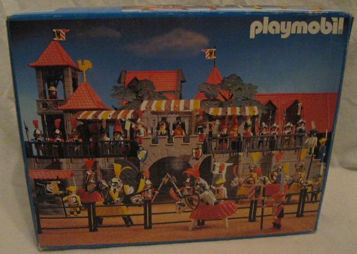 Playmobil 3265s2v5 - Knights game - Box
