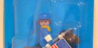 Playmobil - 3287s1 - US cavalryman with flag