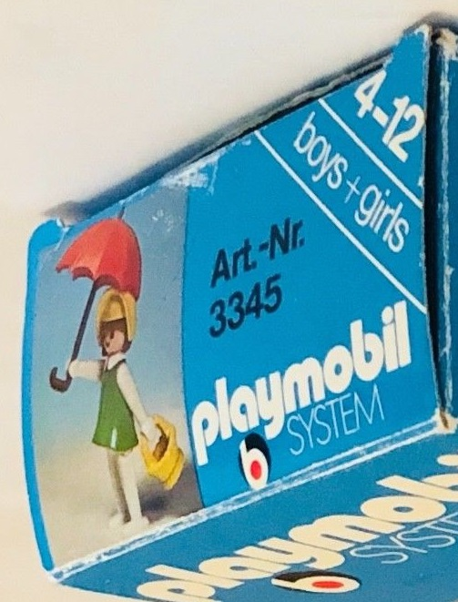 Playmobil 3345 - Western lady - Back