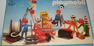 Playmobil - 3400 - Construction Workers