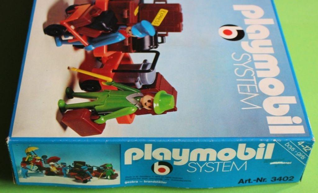 Playmobil 3402v1 - Travellers - Box