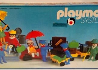 Playmobil - 3402v2 - Travellers