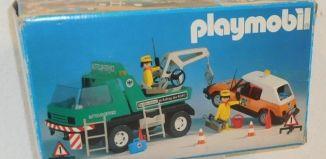 Playmobil - 3473v3 - Green Tow Truck