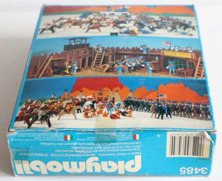 Playmobil 3485v2 - U.S. Cavalry - Back