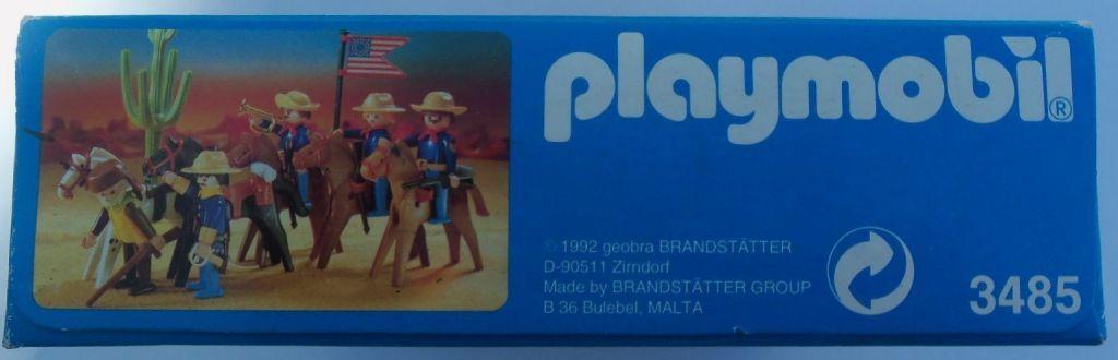 Playmobil 3485v4 - U.S. Cavalry - Box