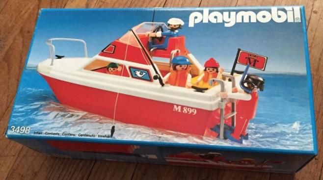 Playmobil 3498v1 - Cabin Cruiser - Box