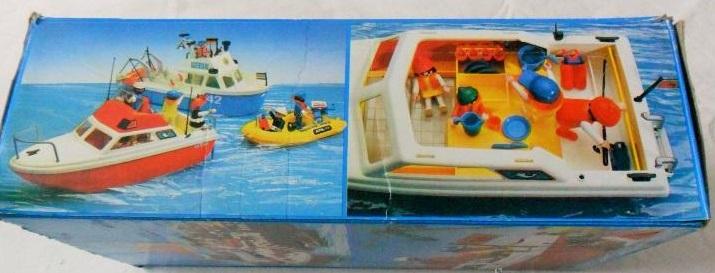 Playmobil 3498v2 - Cabin cruiser - Back