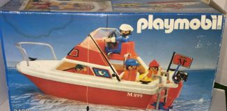 Playmobil - 3498v2 - Cabin cruiser