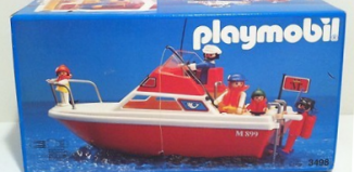 Playmobil - 3498v4 - Cabin cruiser