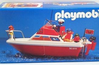 Playmobil - 3498v4 - Cabin cruiser