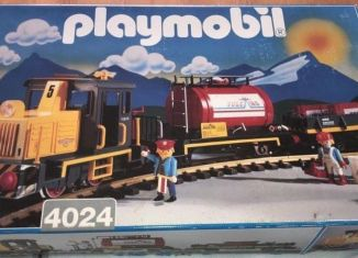 Playmobil - 4024 - Diesel train set