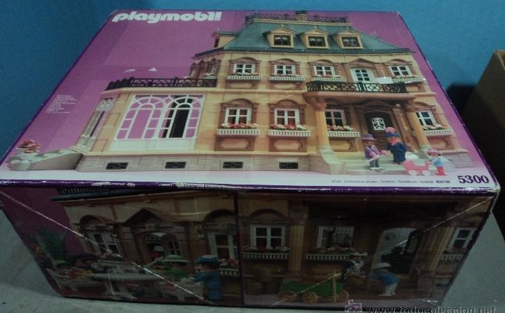 Playmobil 5300v1 - Large Victorian Dollhouse - Box