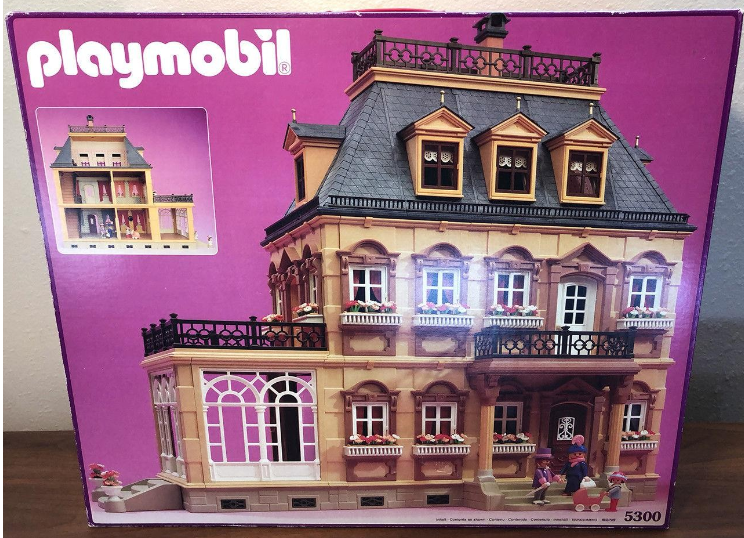Fabulous Playmobil Set 5300V2 Large Victorian Dollhouse Klickypedia Download Free Architecture Designs Scobabritishbridgeorg