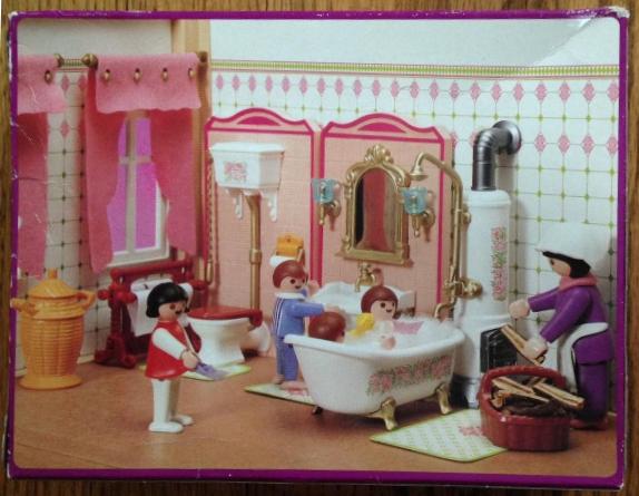 Playmobil 5324v1 - Bathroom - Back