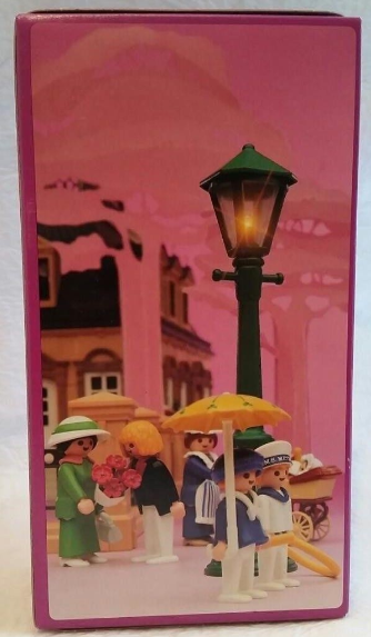 Playmobil 5340 - Man In Tux With Flowers & Lamppost - Back