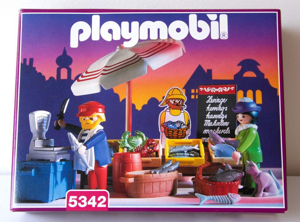 Playmobil 5342 - Fish Stand - Box