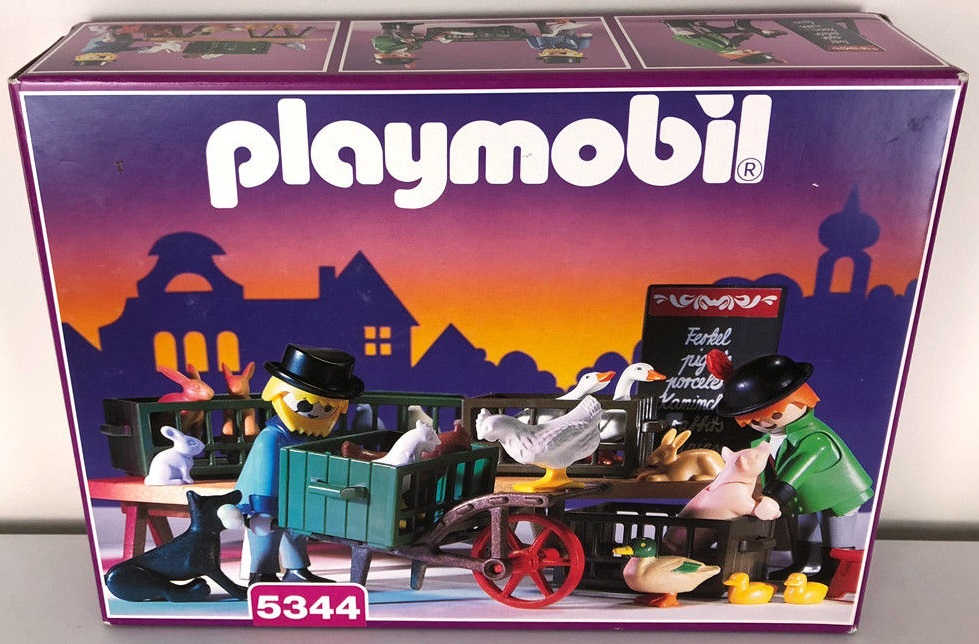 Playmobil 5344 - Poulterer - Box