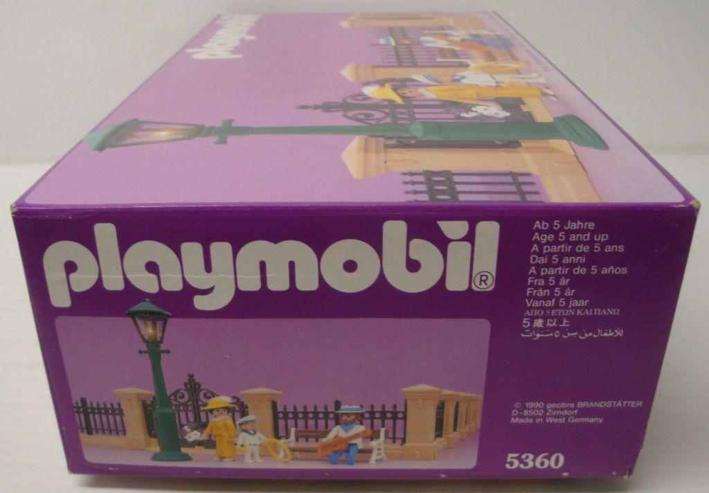 Playmobil 5360 - Dollhouse Fencing - Box