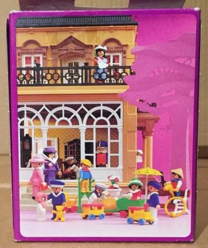 Playmobil 5402v1 - Children With Pumpkin Cart - Back