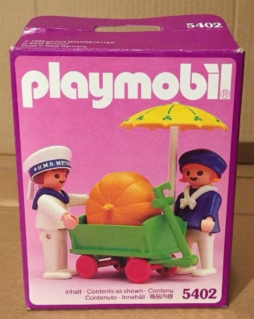 Playmobil 5402v1 - Children With Pumpkin Cart - Box