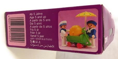 Playmobil 5402v2 - Children With Pumpkin Cart - Box