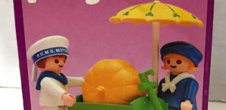 Playmobil - 5402v2 - Children With Pumpkin Cart