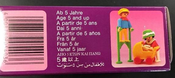 Playmobil 5403v2 - Children With Stilts - Box