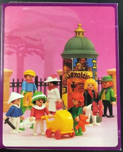 Playmobil 5403v2 - Children With Stilts - Back