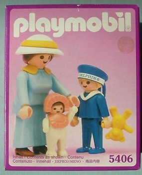 Playmobil 5406 - Mother With Children - Box