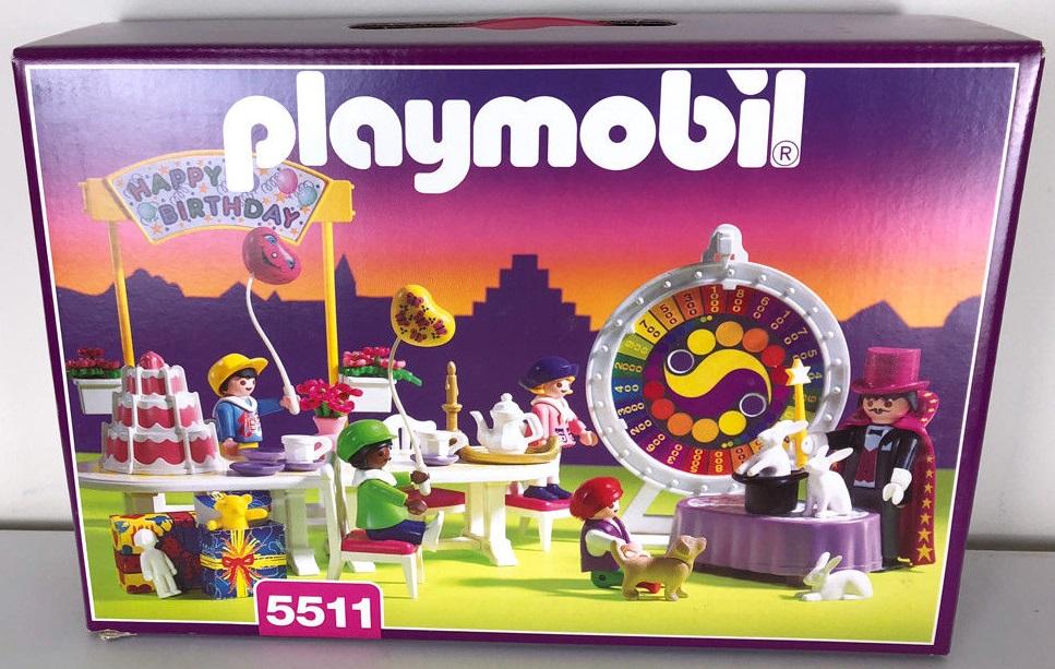 Playmobil 5511v1 - Children's Birthday Party - Box