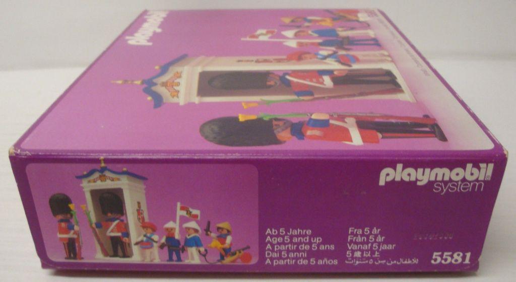 Playmobil 5581 - Guards & Children - Box