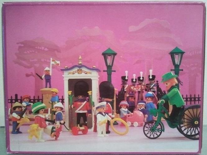 Playmobil 5581 - Guards & Children - Back