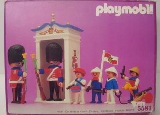 Playmobil - 5581 - Guards & Children