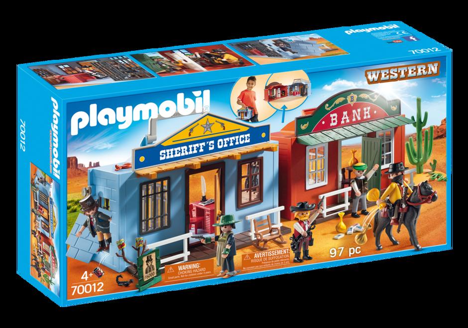 Playmobil 70012 - My Take Along Western City - Box