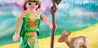 Playmobil - 70059 - Elf With Deer