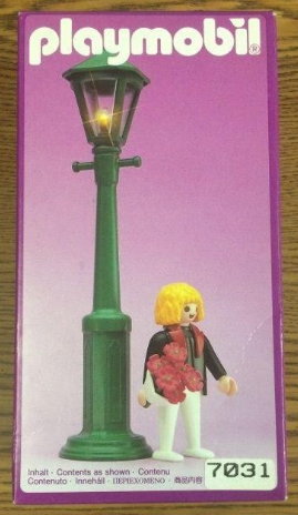 Playmobil 7031 - Man In Tux With Flowers & Lamppost - Box