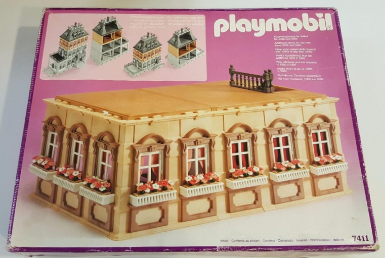 Playmobil 7411v1 - Expansion Floor - Box