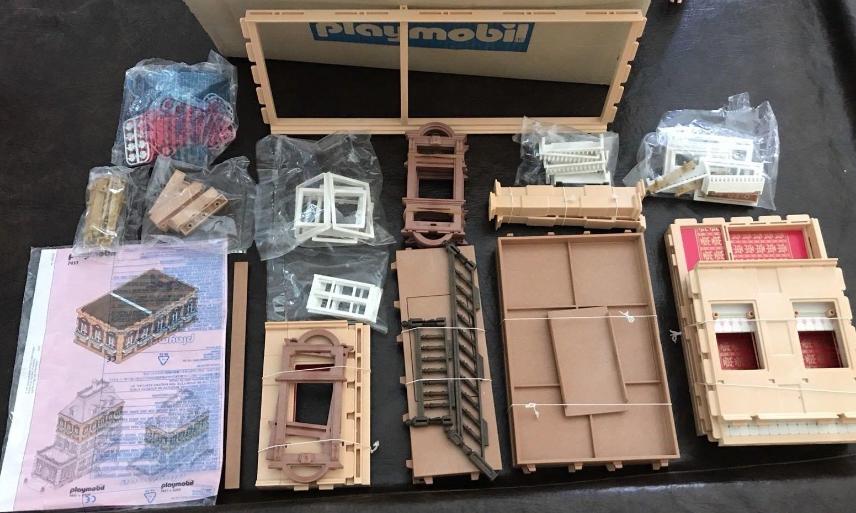 Playmobil 7411v3 - Expansion Floor - Back